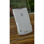 Motorola V3i, White-Chrome, Special Edition, used