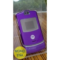 Motorola V3, purple, refurbished